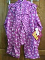 Our Generation Girl 2pc. Pajama Set & Matching Doll Outfit Size 5 And Me New