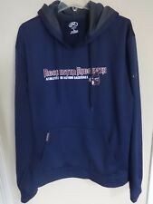 Vintage MiLB Minor League Rochester Ridgemen Hoodie Sweat Shirt Men L Rawlings