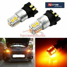 2X PWY24W HP CREE 30W 3030SMD AMBER INDICATOR CANBUS *BULBS AUDI A3 A4 A5 Q3
