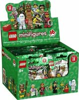 100% LEGO 71002 SERIES 11 Sealed case of 30 Collectible Minifigure Unopened Case