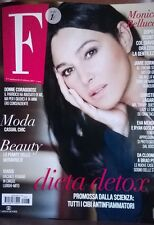 MONICA BELLUCCI NEW F MAGAZINE ITALY FEBRUARY 2017 JAMIE DORNAN RYAN GOSLING