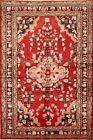 Excellent Vintage Floral Lilihan Area Rug 4x6 Hand-Knotted Oriental Wool Carpet
