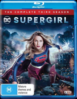 Supergirl : Season 3 (Blu-ray, 4-Disc Set) NEW