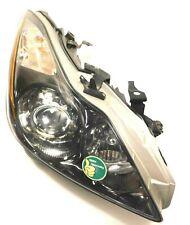 ✅ 2012-2015 Infiniti G37xS COUPE PASSENGER XENON Black Headlight Head Light Lamp