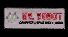 MR ROBOT FSOCIETY TV SHOW Computer Repair 3.75 inch IRON ON PATCH