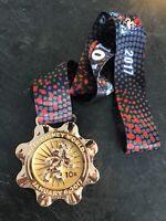 2017 Walt Disney World Marathon Run Disney Race Medal Minnie Mouse 10k Medal