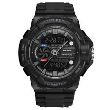 WEIDE Men Casual Fashion Digital Sport Watch Waterproof Alarm Day Analog Digital