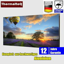 Infrarotheizung Elektroheizung Aluminium Bildheizung Rahmenlos 800W B Ware