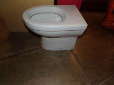 white low level toilet bowl