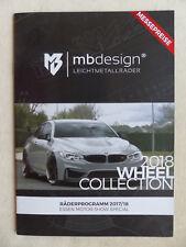 mbdesign Alufelgen Programm 2017/18 - VW Golf GTI - Prospekt 2017
