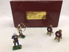 William Britain Knights Agincourt Archers Target Scene 41113