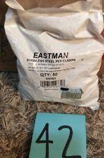 EZ-Flo 65183 Steel PEX Clamps (50)