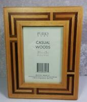 Furio Home Wood Frame Photo Size 3.5 x 5 Tabletop and Wall Mount Imperfect