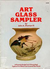 Art Glass Sampler by John A. Shuman III International  Books On Collecting Glass