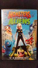 Monsters vs. Aliens (DVD, 2009) USED DREAMWORKS