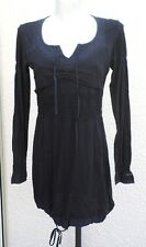 Robe Noire Manches Longues Fimezone Taille M