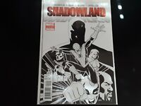 Shadowland #1 Marvel 4th Print Variant Spider-Man High Grade Comic Book RM6-187