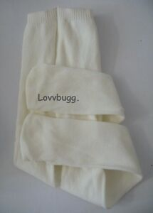 """Ivory Tights for American Girl 18"""" Doll Clothes & Bitty Baby 15"""" GO LOVVBUGG! 🐞"""