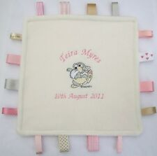 *My Special Little Blanket* THUMPER Baby Taggy Blanket - Personalised Gift,  NEW