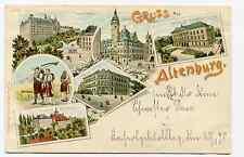 Gruss aus Altenburg von 1898