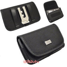 Strong Nylon Horizontal Belt Clip Pouch Case Protector for Apple iPhone 5 Phone