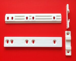 Fridge freezer decor slide rail universal fitting  2 off