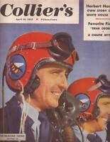 1952 Colliers April 19 - Joe DiMaggio; Herbert Hoover; Charlotte NC; Gymnastics
