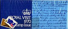 1970 Royal Visit stamp pack
