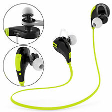 Sports In-Ear Bluetooth Earphones Earbud Built-in Mic A2Dp For Mobile Phone Gym
