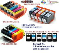 Cartouches encre compati Canon PGI CLI PG CL PG512 CL513 PG540 CL541 PG545 CL546