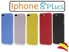 IPHONE 8 Plus FUNDA + PROTECTOR DE PANTALLA // 360 COVER CARCASA SILICONA TPU X