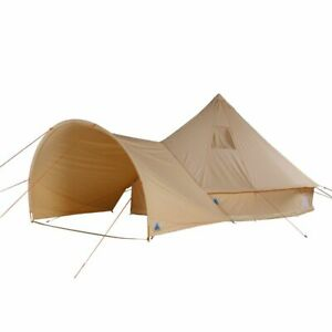 Camping-tent Desert 10 pers. waterproof family tent Tipi cotton sunroof