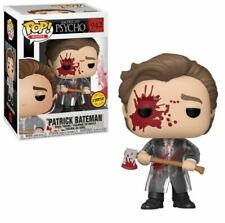 Funko Pop! Patrick Bateman Bloody With Axe American Psycho #942 Chase In Hand