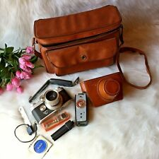 Argus C44 Camera Outfit Flash Leather Case Collectible 35mm
