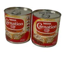Nestle Carnation Caramel Pack Of 2 Tins X 397g Brand New Tinned