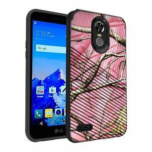 For LG Stylo 3 | LG Stylo 3 Plus Slim Embossed Texture Case
