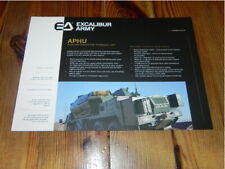 Excalibur Army APHU Militär Military Tactical Vehicles brochure prospekt
