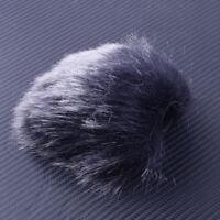 For DSLR Camcorder 1Pcs MIC Furry Microphone Windshield Fur Wind Muff Windscreen