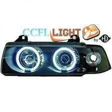 LHD Right Left CCFL Projector Headlights Pair Clear Black For BMW 3 Series E36