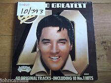 "ELVIS - 40 GREATEST HITS - 2x12"" LP / RECORD - ARCADE - ADEP 12"