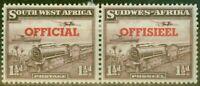 S.W.A 1951 1 1/2d Purple-Brown SG025 Fine Mtd Mint