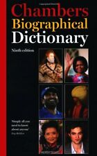 Chambers Biographical Dictionary, 9th edition-Chambers