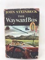 JOHN STEINBECK/THE WAYWARD BUS/1ST EDITION/1ST PRINTING/VARIANT BINDING/1947/DJ
