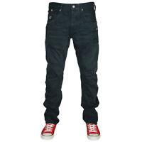 Jeans Pantalone Uomo Jack & Jones Core Casual 5 Tasche Blu Scuro Taglia 43 44 45
