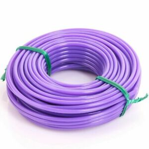 Nylon Strimmer Line, Cord 2mm x 15MT Metres Fits Flymo And Bosch - Purple