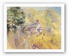 Plantation Church Alice Huger Smith African American Art Print 20x16