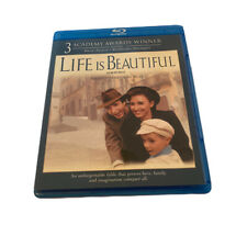 New listing Life Is Beautiful (Blu-ray) Roberto Benigni Out Of Print Oop - Minty Clean