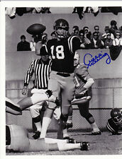 ARCHIE MANNING SIGNED OLE MISS REBELS 8X10 PHOTO #1