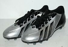 ADIDAS FILTHY QUICK FOOTBALL CLEATS SHOES SZ 14 MEN CLEAT GRAY & BLACK