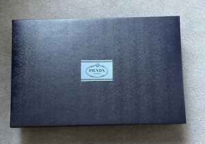 Prada Authentic empty box,Gift Box Or storage ,filing box at home